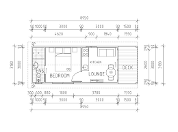 Granny Flat Floor Plans 1 Bedroom Granny Flat Diy Kits Flats House Plans 30463