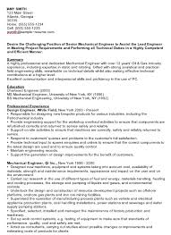Sample Resumes For Mechanical Engineers by Electrical Engineer Sample Resume Cvtipscom