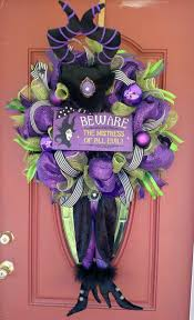 Etsy Halloween Wreath by