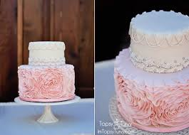 wedding cake fondant fondant rosette cake ashlee