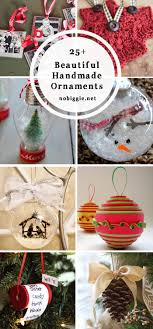 25 beautiful handmade ornaments