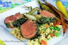 dijon u0027n herb encrusted rack of lamb meal planning maven