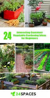 Container Vegetable Gardening Ideas 24 Interesting Container Vegetable Gardening Ideas For Beginners