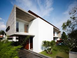 Elegant Home Design Ltd Products by Classic Modernist Style M House In Singapore Side View Home