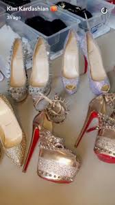 kim kardashian couldn u0027t pay rent after these christian louboutin