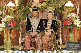 wedding dress jogja the groom friends and family in the wedding party from a