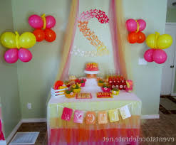 Decorate Home by Simple Birthday Party Decorations At Home Decorating Of Party How