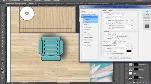 rendering a floor plan using photoshop youtube
