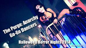 hd the purge go go dancers 2014 universal halloween horror