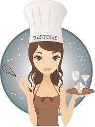 logo chef de cuisine cuisiner dans des restaurants pendant leur fermeture avec restolib fr