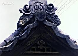 kawara hafu gengyo japanese traditional tile roof buddhist