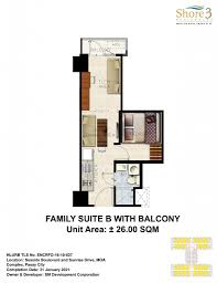 Sm Mall Of Asia Floor Plan by Shore 3 Residences Smdc Moa Flbfang Com