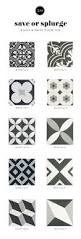 save or splurge black u0026 white floor tile u2014 studio mcgee