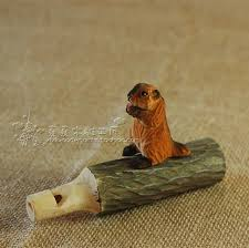handmade wood sculpture squirrel whistle wood carving 27 52