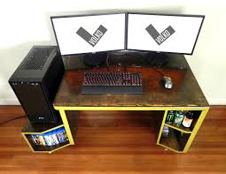 Paragon Gaming Desk Vikter Gaming Desk By Tom Balko At Coroflot