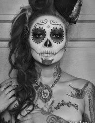 상의 sugar skull lady에 관한 상위 30개 이미지 할로윈