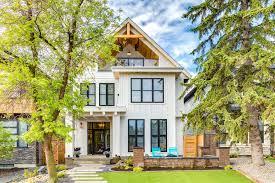 modern farm house modern farmhouse by trickle creek designer homes homeadore