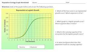 population ecology worksheet free worksheets library download