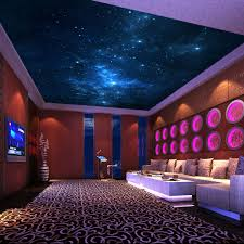 home design group ni the stars in the night sky mural wallpaper ktv ceiling wallpaper