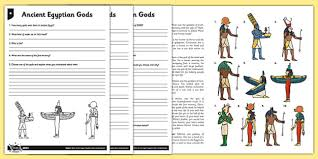 ks2 ancient egyptians primary resources page 1