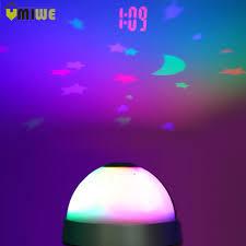 night light alarm clock colorful night light alarm clocks led digital projection sky moon