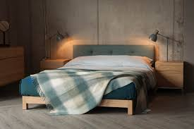 bedroom dark wood platform bed wooden bed frames contemporary
