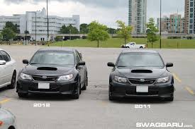 subaru sti 2011 difference between 2011 vs 2012 vs 2013 sti sedan