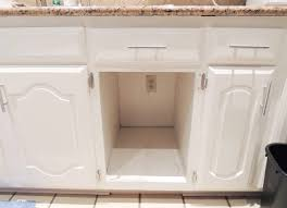 Under Cabinet Pull Out Trash Can Pull Out Trash Can And Recycling Bin Geeky Engineer Under