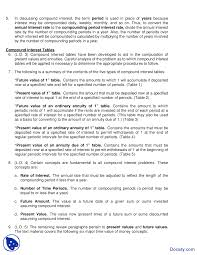 Ordinary Annuity Table Accounting And The Time Value Of Money Intermediate Accounting