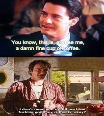 Twin Peaks Meme - twin peaks meme cooper to tarantino on bingememe