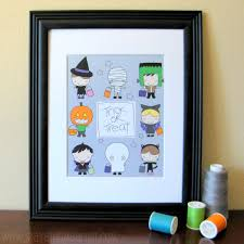 Free Printable Halloween Trivia Stayathomeartist Com Little Trick Or Treaters Printable