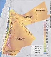 Gulf Of Aqaba Map Atlas Of Jordan Topography And Morphology Presses De L U0027ifpo