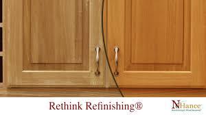 Cabinet Door Refinishing Nhance Think About Cabinet Door Refacing Cincinnati