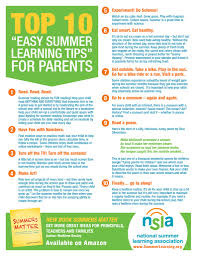 Tip Sheet For Your Creative Tip Sheet For Parents Summer Learning