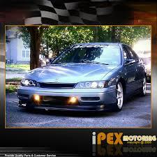 1996 honda accord jdm 1996 1997 honda accord halos projector led headlights jdm black