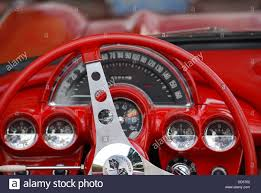 corvette dashboard 1960 corvette dash stock photo royalty free image 59737022 alamy