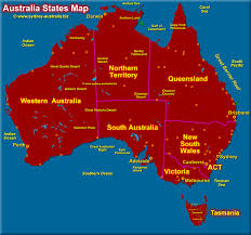 map of australia australia states map png in of with and territories