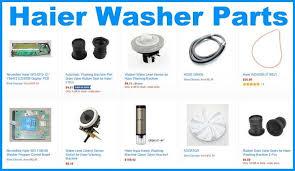 haier washing machine front loader general error codes