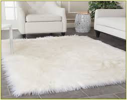 Fur Area Rug Attractive Fur Area Rug With Faux Fur Area Rug Ivory Home Design
