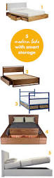 Modern Beds With Storage 5 Modern Beds With Smart Storage Sunset