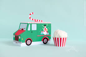 christmas cupcake box food truck holiday cupcake box gift