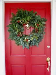 Home Decor Front Door Delightful Christmas Front Door Decorating Ideas Presenting