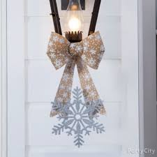 fanciful winter decoration idea city