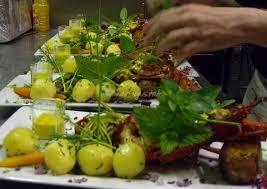 cuisine a 4 mains repas gastronomique de la cuisine à 4 mains photos