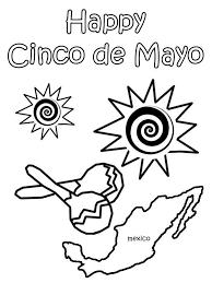 mexican cinco mayo mexican fiesta coloring kids play