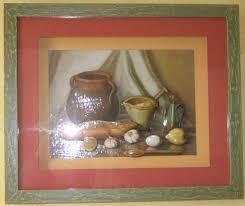tableau theme cuisine objets 3d