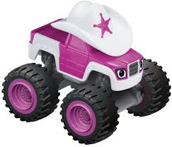 expensive pink cars amazon com fisher price nickelodeon blaze u0026 the monster machines