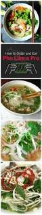 how to order and eat pho like a pro how to eat pho infographic