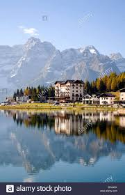 hotel on lake misurina dolomites province of bolzano bozen