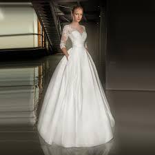 comparar preços de modest sparkly wedding dress compras on line
